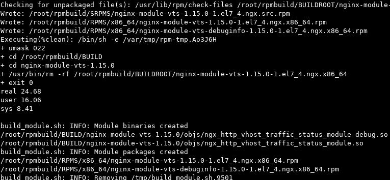 nginx buils script