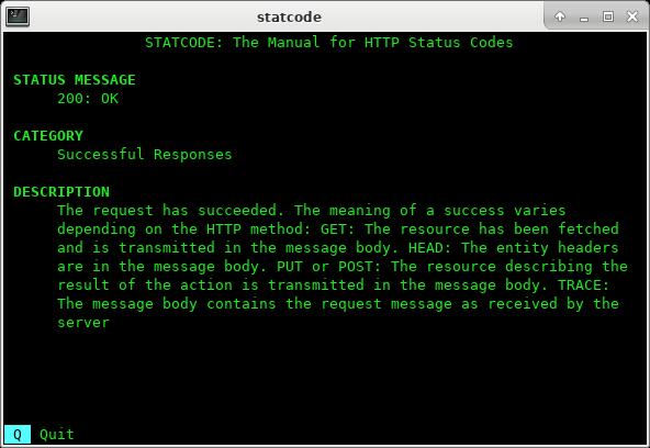 statcode