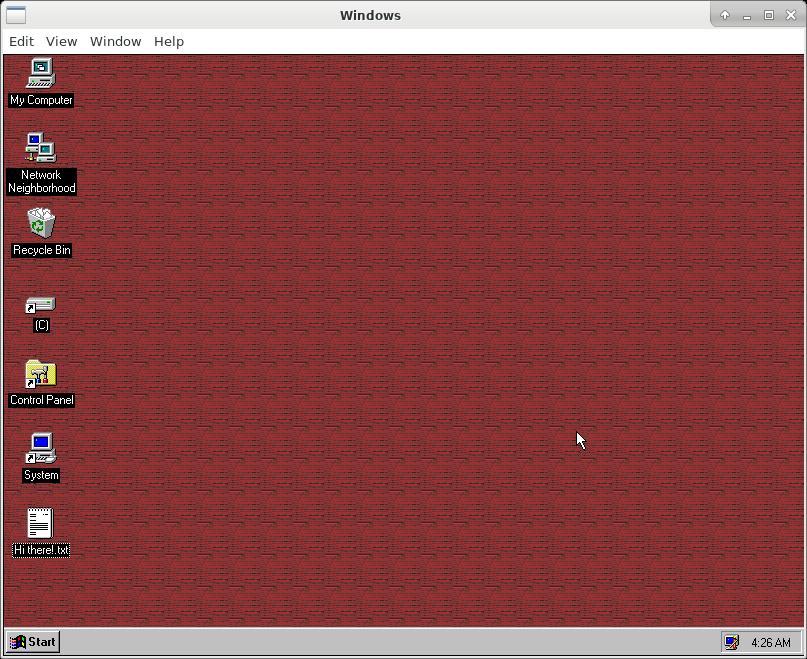 windows 95 linux